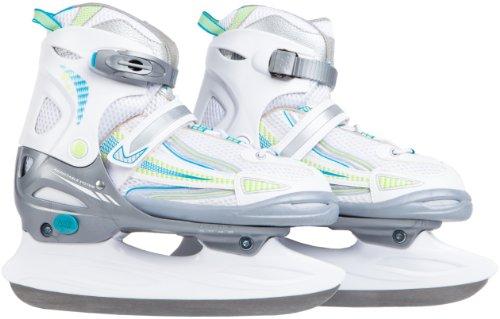 Ultrasport Kinder Schlittschuh Kids-Skater, weiß türkis grün, 28-31, 331300000122