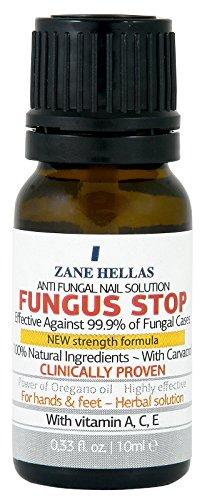 Fungus Stop. Tuer 99,9% de la mycose des ongles. Anti fongique Traitement des ongles. Les ongles des orteils et traitement ongles. 10 ml - 0,33 oz