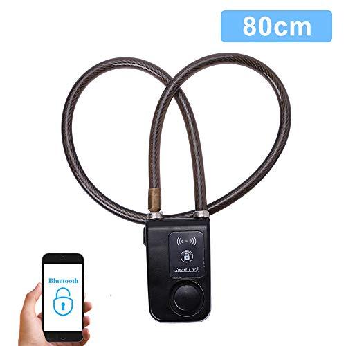 Cerradura Inteligente para Bicicletas Bluetooth Cadena Antirrobo con A
