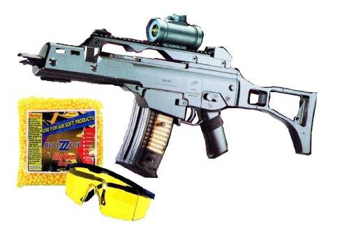 Softair Einsteiger Set Gewehr M41G + Schutzbrille + 1000 Kugeln