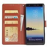 Handy schützen, Hülle Für Samsung Galaxy Note 8 Geldbeutel/Kreditkartenfächer / mit Halterung Ganzkörper-Gehäuse Solide Hart PU-Leder für Note 8 / Note 5 / Note 4 für Samsung