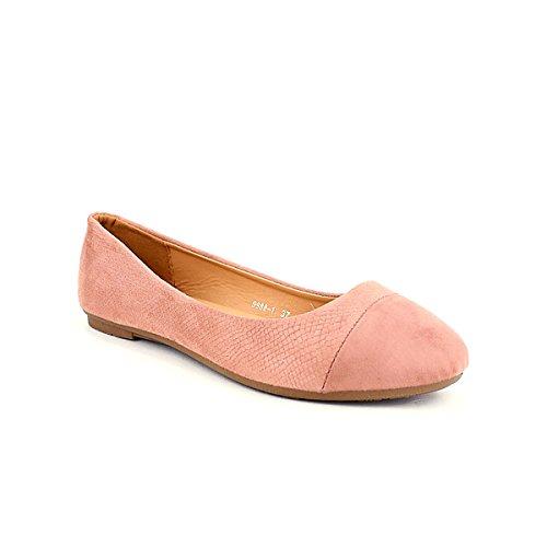 Cendriyon Ballerines Pink CH Creation Chaussures Femme Rose