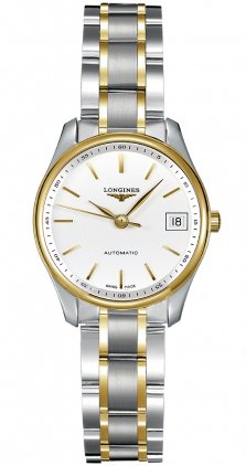 longines-damen-armbanduhr-armband-edelstahl-goldgelb-automatik-zifferblatt-weiss-analog-l21285127