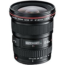 Canon EF 17-40mm f/4L USM Negro - Objetivo (12/9, 0,28 m, 3,5 cm, 93°, 70,30°, - EOS 1000D - EOS 450D - EOS 500D - EOS 550D - EOS 60D - EOS 7D - EOS 5D Mark II - EOS-1D Mark IV -)