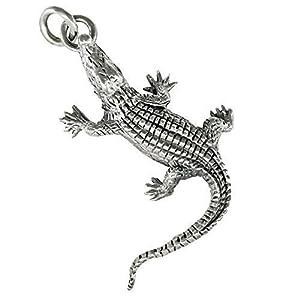 AFP Anhänger Krokodil 925 Sterling Silber AS-46