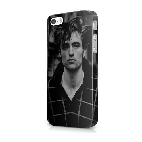 COUTUM iPhone 5/5s/SE Coque [GJJFHAGJ72823][RIFLE PAPER CO THÈME] Plastique dur Snap-On 3D Coque pour iPhone 5/5s/SE ROBERT PATTINSON - 007