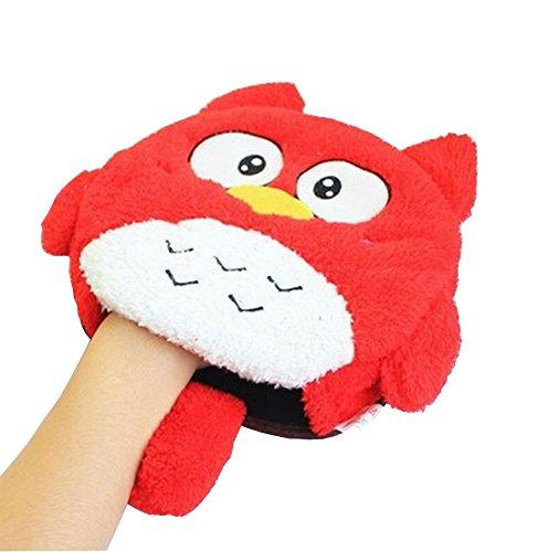 USB chauffants Tapis de souris Tapis de souris réchauffe-mains Oiseau rouge
