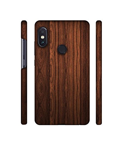 quality design f74a4 07df5 Casotec Wooden Texture Design 3D Printed Hard Back Case Cover for Xiaomi  Redmi Note 5 Pro