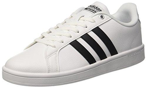adidas Herren Cloudfoam Advantage Sneaker, Grau (Ftwwht/cblack/ftwwht), 44  EU