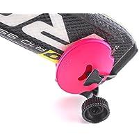 Skiddi Mini trolley de bolsillo para esquí, SHOCKING PINK