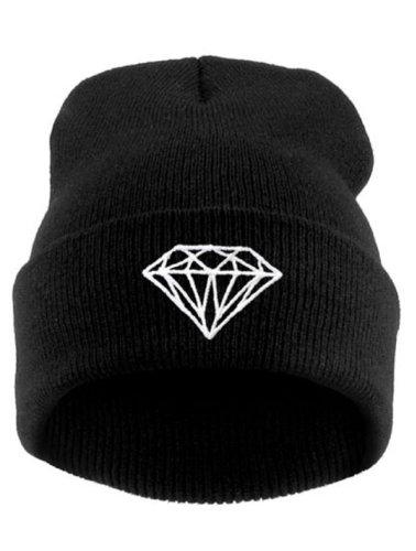 4sold Comme des Fuckdown Beanie Hat (Diamond schwarz)
