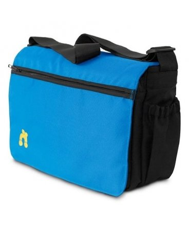 Out n About Changing Bag - Lagoon Blue Test