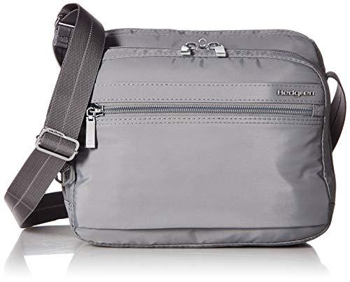 Hedgren Damen Metro Crossbody Bag, Organizer, Rfid, Tablet Pocket, Leash Umhängetasche titan Einheitsgröße