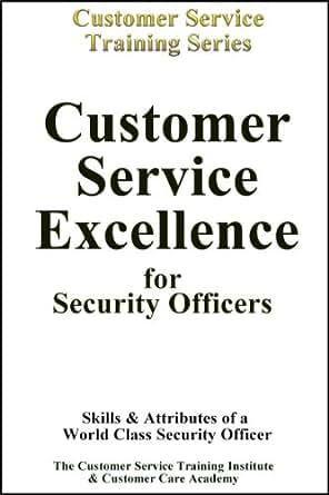 Security officer training customer service excellence ebook the customer service training - Security officer training online ...