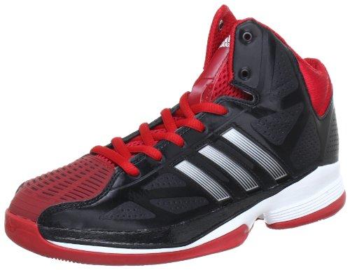 adidas Pro Model 0 II G48817, Scarpe da basket uomo Multicolore (Mehrfarbig (Black 1 / Running White Ftw / University Red))