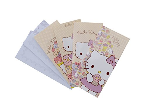 Image of Hello Kitty Notecards