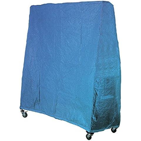 Garlando Set Ping Pong Copertura Impermeabile Universale Blu Con Cerniera blu