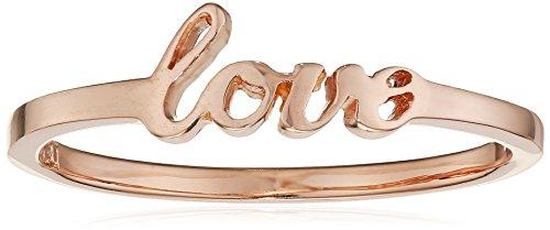 caï love Damen-Ring Love 925 Silber rose vergoldet 54 (17.2) C7311R/90/00/54