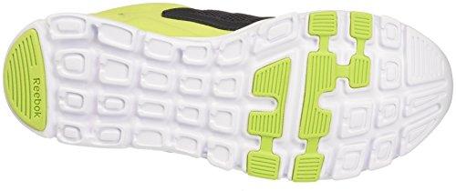 Reebok Yourflex Train 9.0, Chaussures de Tennis Homme Vert (Coal/green/wht/pwtr)
