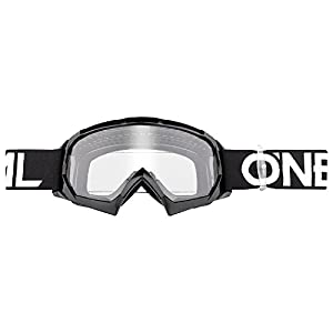 ONeal B-10 Goggle Twoface Crossbrille Verspiegelt Silber Motocross DH Downhill MX Anti-Fog Glas 6024-20