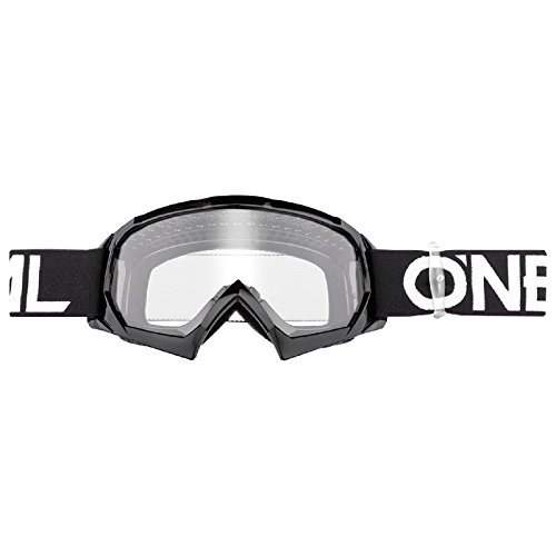O'Neal B-10 Kinder Solid Goggle Kinder Crossbrille Motocross DH Downhill MX Anti-Fog Glas Youth, 6024-11, Farbe schwarz