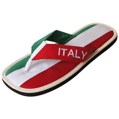 """Zimt-Slipper Nawemo """"Italien"""", WM-Edition (Zimtlatschen), Größe 39/40"""