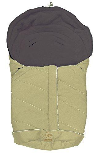 Preisvergleich Produktbild Baby Minder 050.5100–002Winter Schlafsack für Babyschale/carozzina Marrone(Cacao-Avorio)
