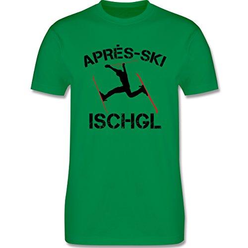 Après Ski - Apres Ski Ischgl - Herren Premium T-Shirt Grün