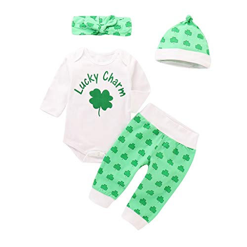 St Patricks Day Baby Boy Outfit - BeautyTop Baby 3-24 Months Mädchen Jungen