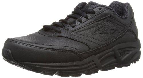 Brooks Women's Addiction Walker Walking Shoe,Black,8.5 AA
