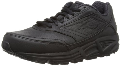 Brooks Addiction, Damen Walker Laufschuh, schwarz, 39 EU / 6 UK (Walker-running-schuhe)