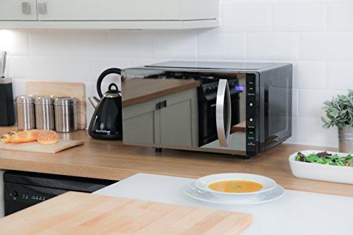 Russell Hobbs RHFM2363B 23L Flatbed Digital 800w Solo Microwave Black