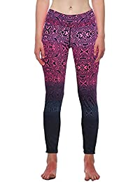 b549c8424 Logobeing Pantalones Yoga Mujer Leggings Fitness Pantalón Deportivo Running  (Rosa fuerte, ...