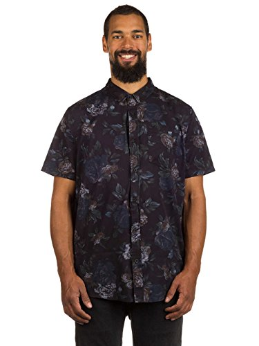 Herren Hemd kurz Globe Denman Hemd Navy