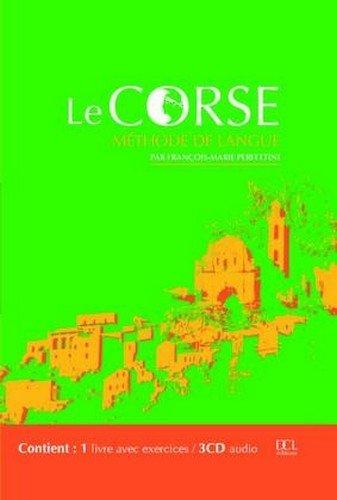 Le Corse : Méthode de langue (1 livre + 3 CD audio) par François-Marie Perfettini