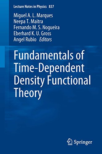 Fundamentals of Time-Dependent Density Functional Theory (Lecture Notes in Physics Book 837) (English Edition)