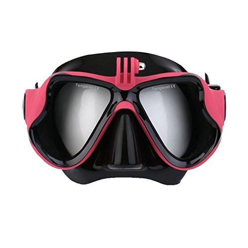 ulable Unterwasser Kamera Uni Tauchmaske Scuba Schnorchel Schwimmbrille für GoPro