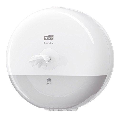 SCA Tork 681000 SmartOne Mini Spender für Toilettenpapier, Weiß