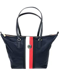 89a7862d8 Tommy Hilfiger Poppy Tote Stp, Women's Tote, Blue (Corporate), 14x32x47 cm