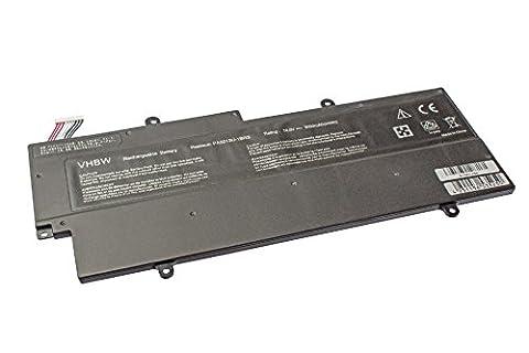 Toshiba Z830 - vhbw Li-Polymer Batterie 3000mAh (14.8V) pour notebook