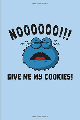 Noooooo!!! Give Me My Cookies!: Internet Protection And Privacy Undated Planner   Weekly & Monthly No Year Pocket Calendar   Medium 6x9 Softcover   For Analytics Manager & Database Normalization Fans