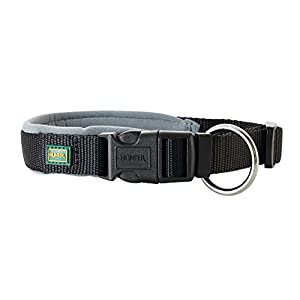 Hunter Vario Plus Neoprene Collar, XX-Small, Black/Grey