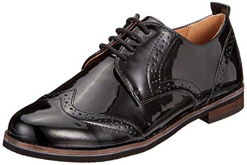 CAPRICE Damen 23200 Oxfords Schwarz (Black Patent 18) 39 EU