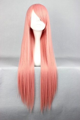Perücke Wig Rosa ca. 80cm lang für Pandora Hearts Charlotte Baskabiru Cosplay