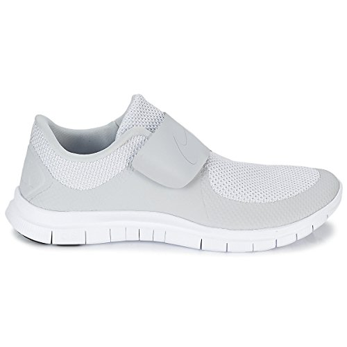 Nike Herren Free Socfly Laufschuhe, Grau / Wei