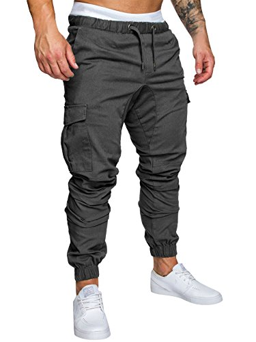 Homme Pantalon Casual Baggy Sport Jogging Fitness Loose...