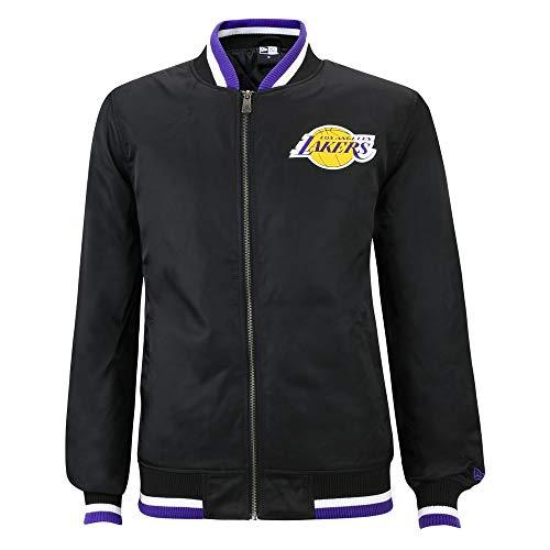 New Era NBA LOS Angeles Lakers Team Apparel Varsity Jacke, Größe :M Team-varsity-jacke