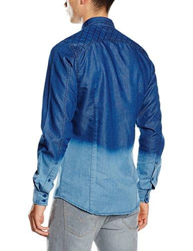 HOPE'N LIFE Herren Pullover Naleigh Blau (Deep Blue)