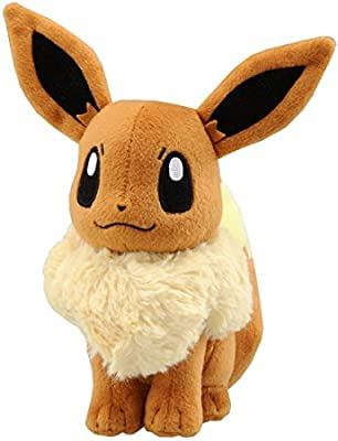 New Pokemon Eevee Plush Doll Anime Cosplay 12 inches 30cm de BabyCenter