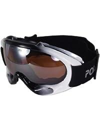 POLARLENS SERIES PG22-01 Lunettes de ski / Lunettes de Soleil / Lunettes de Snowboard / Lunettes de sport avec ANTI-Brouillard + Micro-fibres pochette !